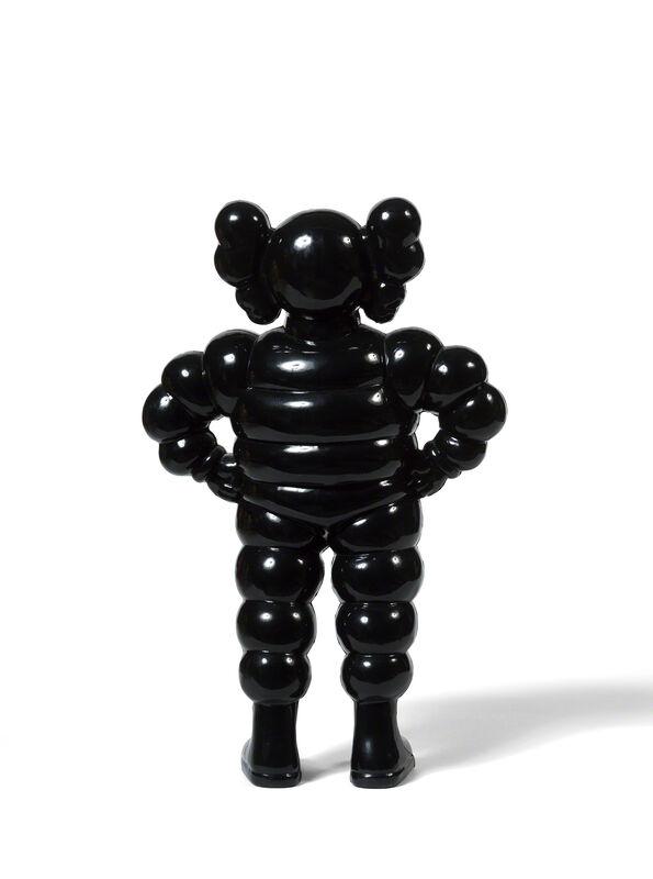 KAWS, 'CHUM (Black)', 2002, Sculpture, Cast vinyl, DIGARD AUCTION