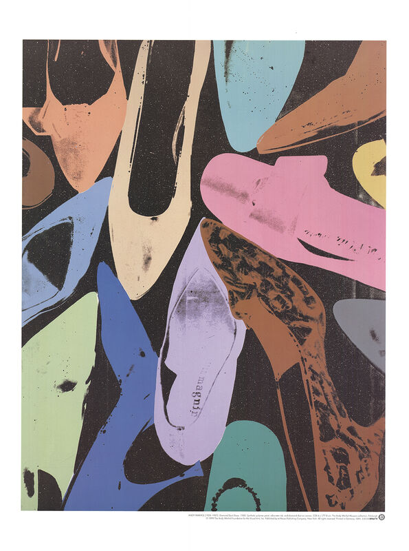 Andy Warhol, 'Diamond Dust Shoes', 1999, Posters, Ink on paper, ArtWise