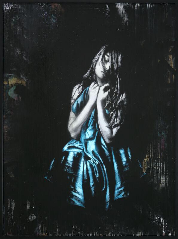 Snik, 'Souls Apart', 2014, Painting, Aerosol on canvas (14-layer hand-cut stencil), Addicted Art Gallery