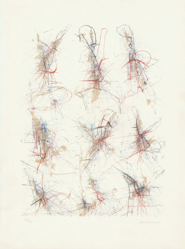 Enrique Brinkmann, 'Untitled', 1989, Print, Lithograf, OBA/ART