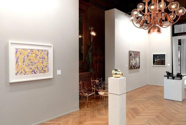 Paul Kasmin Gallery at TEFAF NY Spring 2017, installation view