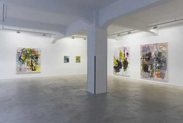 Robert Muntean | Sonic Wave, installation view