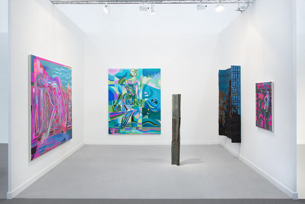 Night Gallery at Frieze Los Angeles 2020, installation view