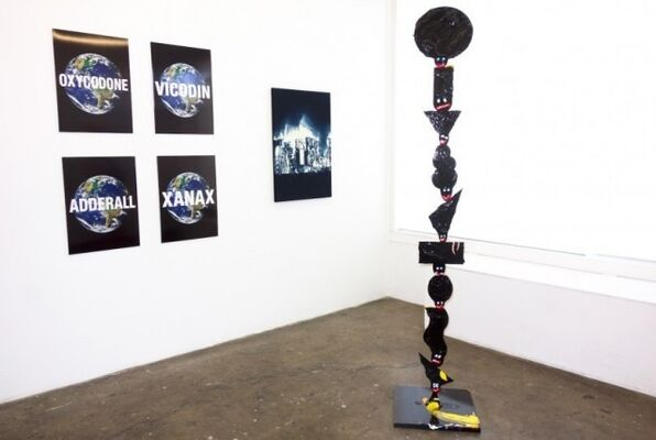 'Anxiety', installation view