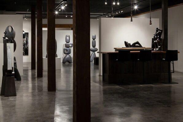 Quo-rum - trio with Rose Braun + Keith Rice-Jones + Victor Morgulis, installation view