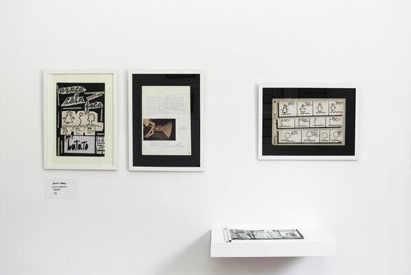 """BATATO BAREA, """"Historietas Obvias"""" y otros numeritos, installation view"""