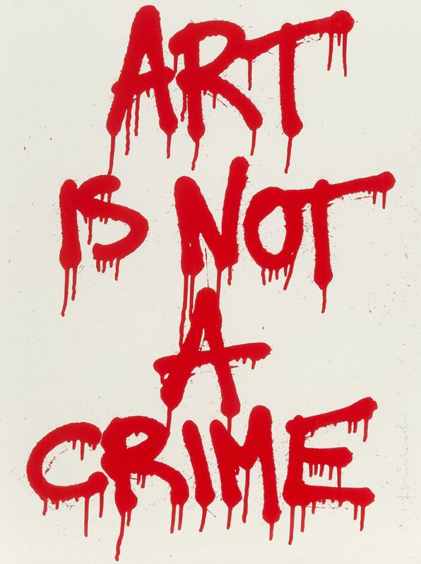 Mr. Brainwash, 'Art is Not a Crime', 2011, Print, Screenprint in colors on Archival paper, Heritage Auctions