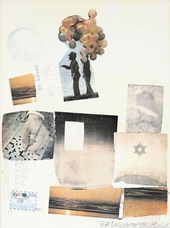 Robert Rauschenberg, 'Support', 1973, Print, Color screenprint, Caviar20