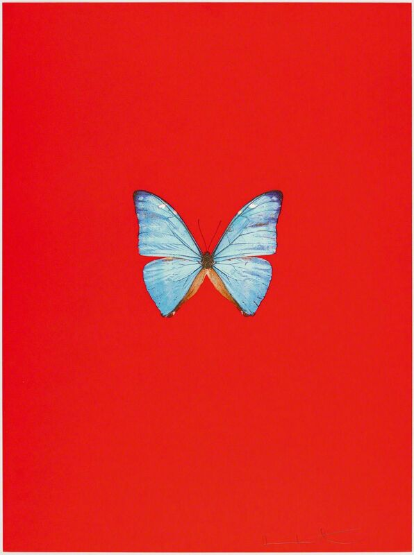Damien Hirst, 'New Beginnings', 2011, Print, Coloured polymer-intaglio, Koller Auctions