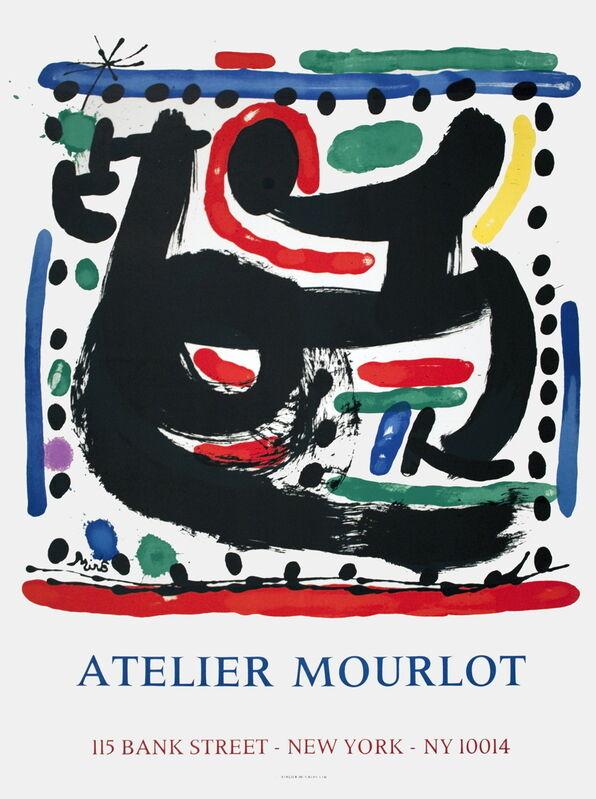 Joan Miró, 'Atelier Mourlot', 1967, Ephemera or Merchandise, Stone Lithograph, ArtWise