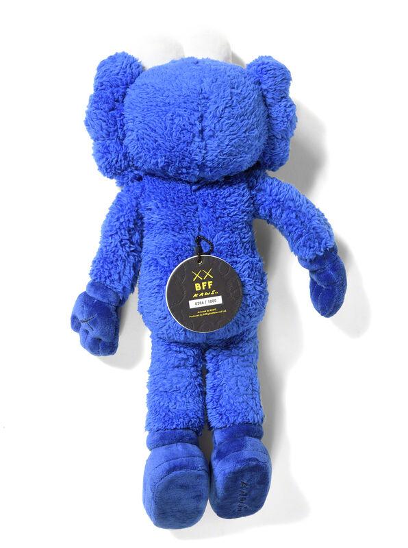 KAWS, 'BFF PLUSH (Blue)', 2016, Textile Arts, Plush, DIGARD AUCTION