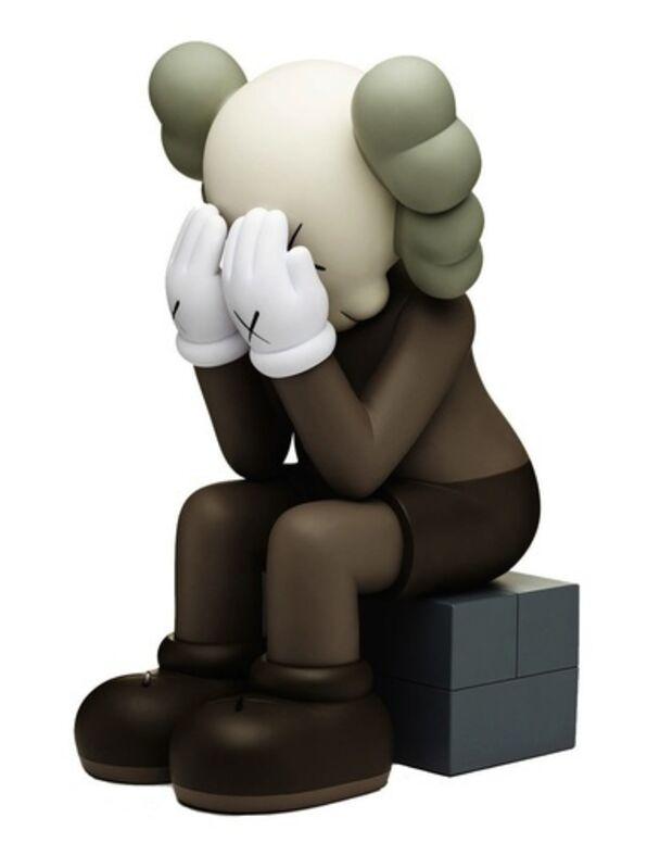 KAWS, 'Passing Through (Brown)', 2013, Sculpture, Painted cast vinyl, Lougher Contemporary