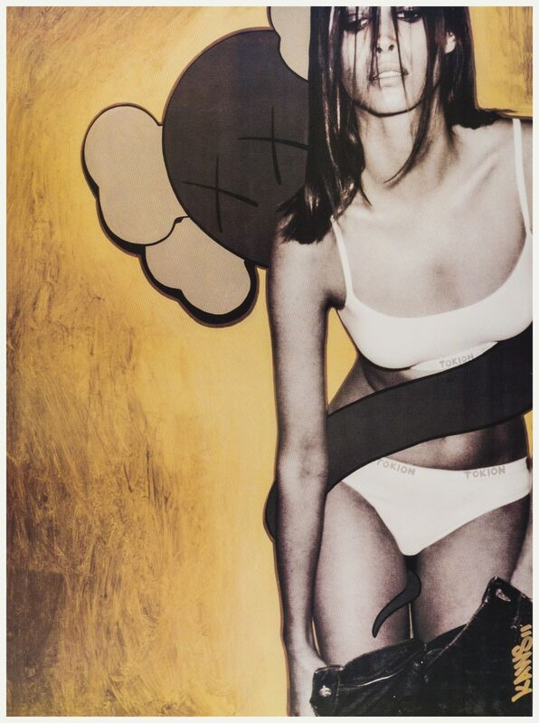 KAWS, 'Christy Turlington, Tokion Poster', 1999, Print, Offset lithograph printed in colours, Forum Auctions