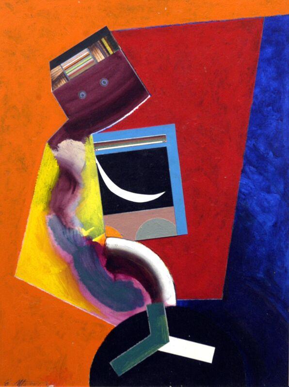 Eugene James Martin, 'Hi, It's Me', 2002, Drawing, Collage or other Work on Paper, Mixed media collage, Eugene Martin Estate