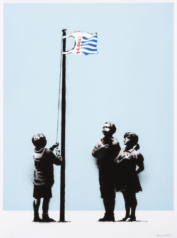 Banksy, 'Very Little Helps', 2008, Print, Screenprint in colours on 270gsm paper, Tate Ward Auctions