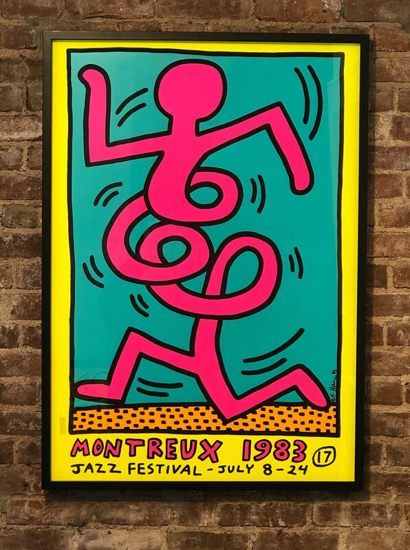 Keith Haring, 'Montreux 17ème / Festival de Jazz', 1983, Posters, Screenprint, Woodward Gallery