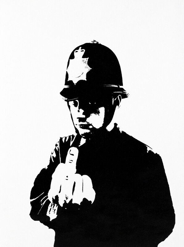 Banksy, 'Rude Copper', 2002, Print, Screen print on paper, Tate Ward Auctions