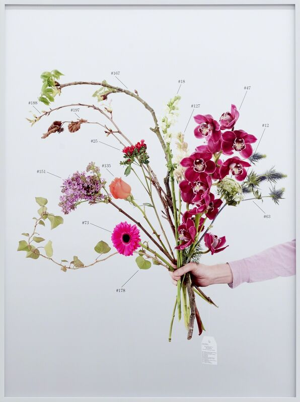 Natalie Czech, ' A Critic's Bouquet by Vanessa Desclaux for Marc Camille Chaimowicz ', 2015, Photography, 2 parts, Archival pigment print, Kadel Willborn