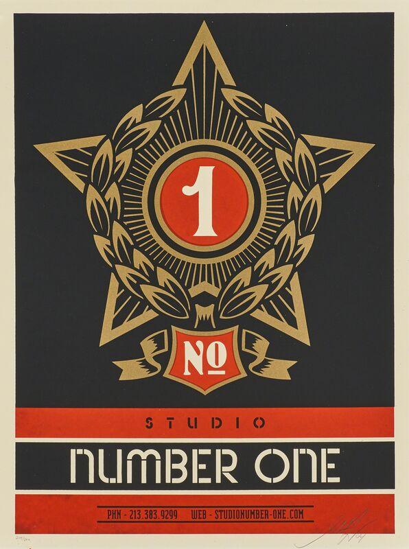 Shepard Fairey, 'Studio Number One', 2004, Print, Screenprint in colors, Rago/Wright