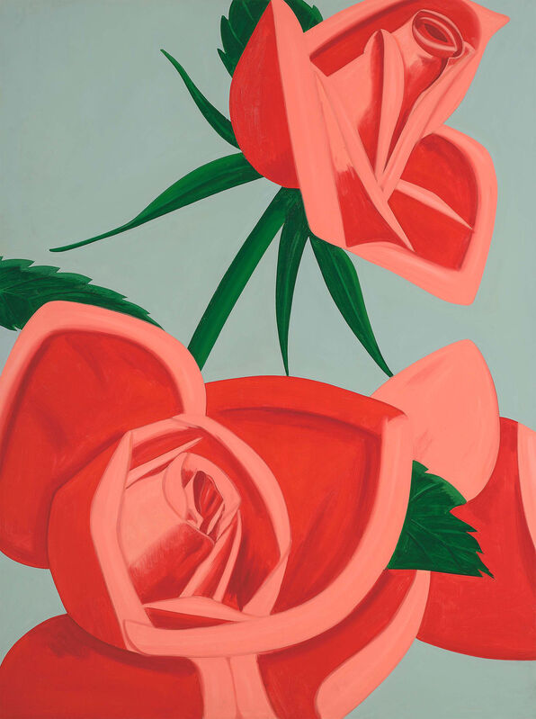 Alex Katz, 'Rose Bud', 2018, Print, Archival pigment inks on Crane Museo Max 365gsm paper, American Friends of Museums in Israel Benefit Auction