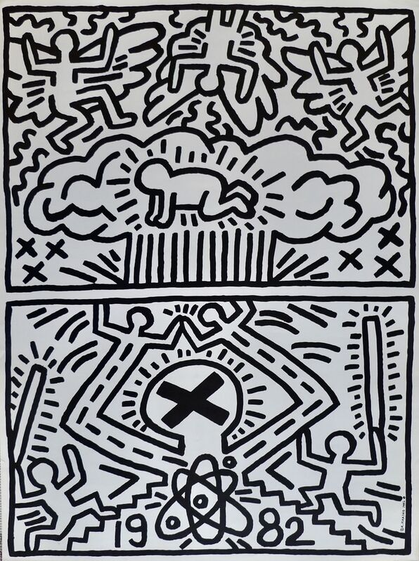 Keith Haring, 'Poster for Nuclear Disarmament', 1982, Ephemera or Merchandise, Paper, Bengtsson Fine Art