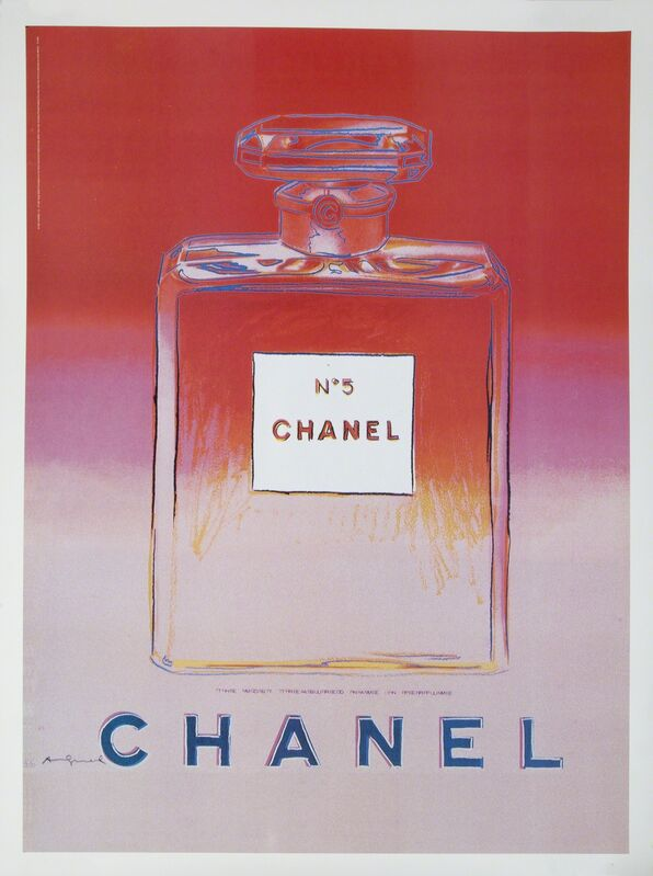Andy Warhol, 'Chanel #5 Suite', 1997, Print, Offset lithograph on canvas, Julien's Auctions