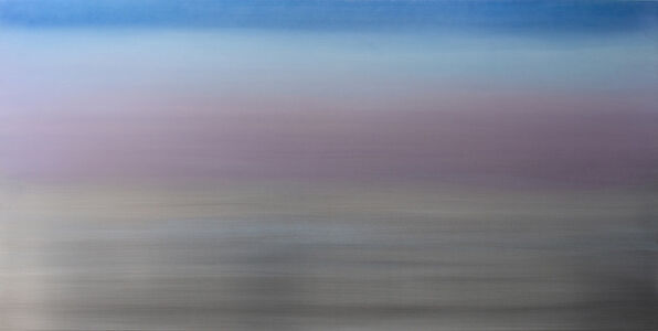 Miya Ando, 'Blue Lavender Silver 4.8', 2018