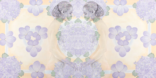 Emma Hack, 'Violet Whispers – Mirrored Whispers', 2012