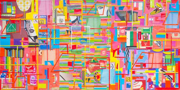 Matt Gonzalez, 'Wind-awry, she exchanges the recollection', 2018