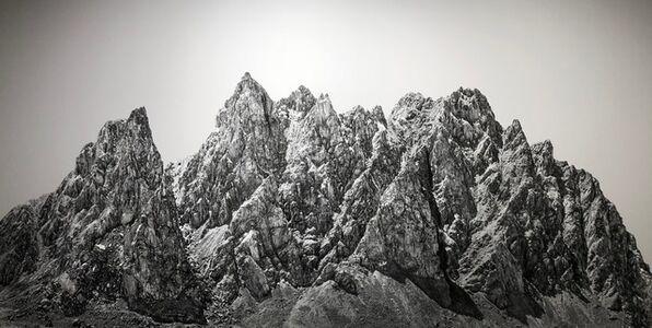 Shao Wenhuan 邵文欢, 'Forgotten Mountain No.1 40° 6'26N,95°51'52E 遺山1', 2018