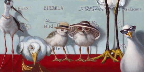 Lucia Heffernan, 'Hampton Chicks', 2020