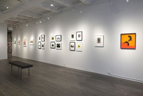 Idelle Weber: Postures and Profiles from the 50s and 60s, installation view