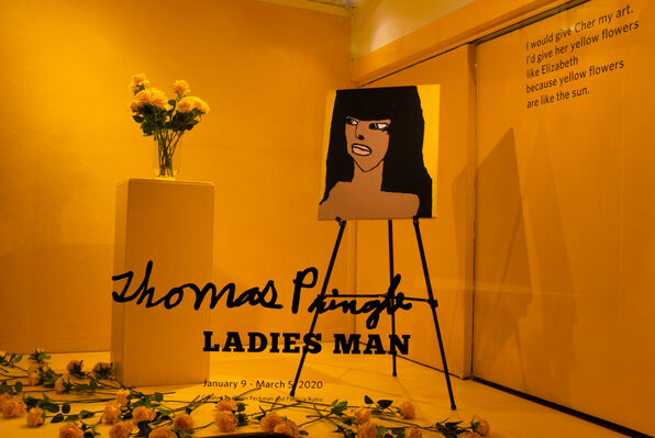 Thomas Pringle Ladies Man, installation view