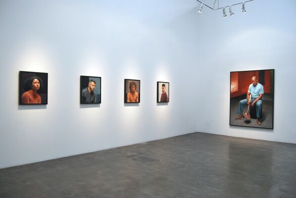"""Delfin Finley's """"Some Things Never Change"""", installation view"""