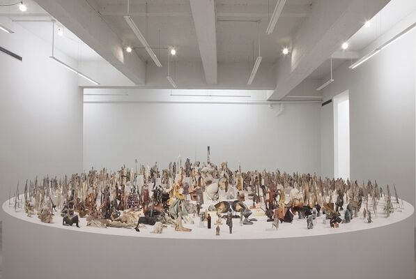 GEOFFREY FARMER, installation view