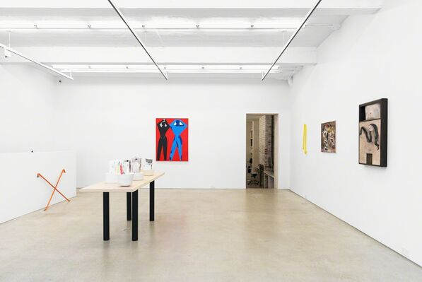 Record Lines This Summer, installation view