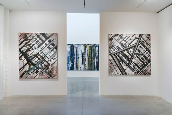 Ed Moses: Painting as Process, installation view