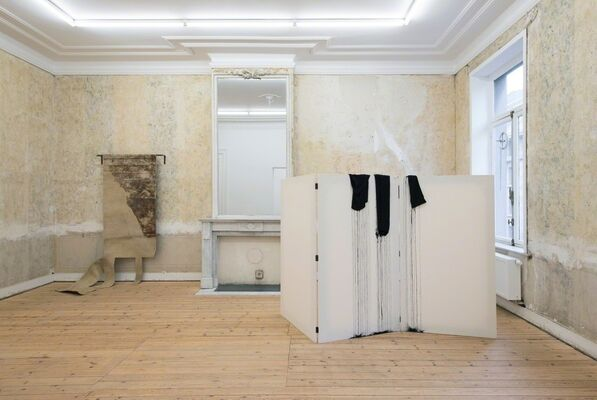 Paravent, Group show, installation view