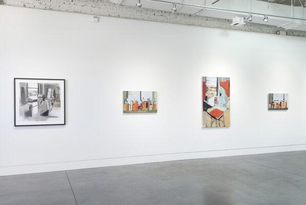 Paintings • Drawings • Prints: Peri Schwartz, installation view