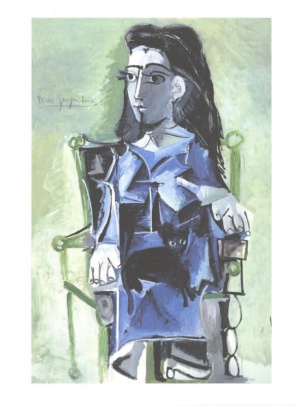 Pablo Picasso, 'Jacqueline Assie avec son Chat Noir', 2019, Reproduction, Offset Lithograph, ArtWise