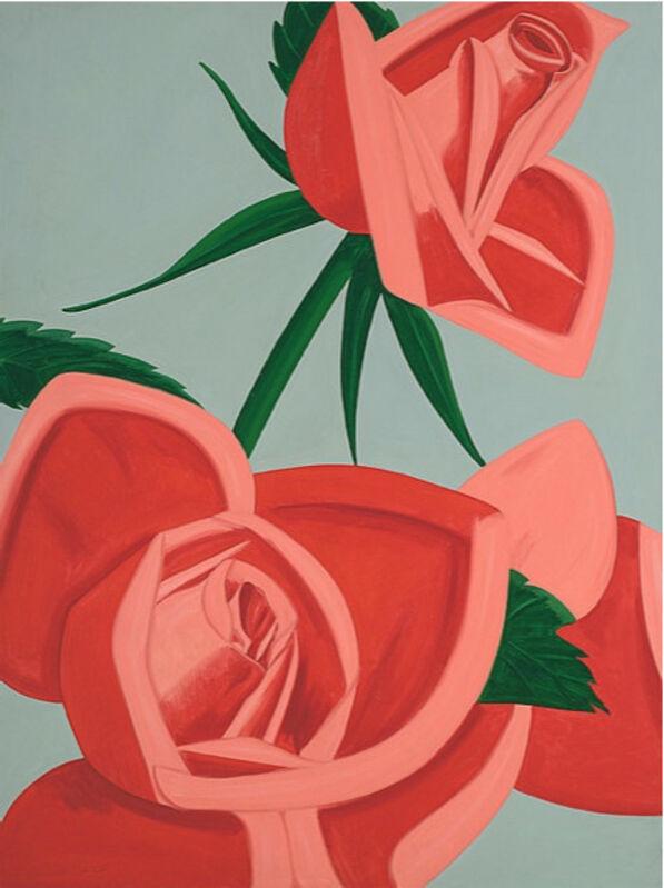 Alex Katz, 'Rose Bud', 2019, Print, Archival inks on Museum Board, David Benrimon Fine Art