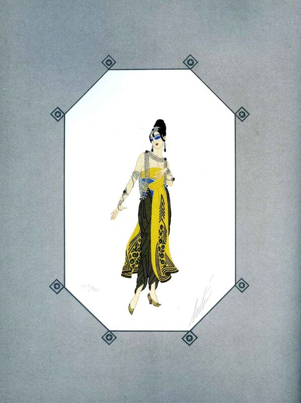Erté, 'Baghdad', 1979, Print, Hand-signed lithograph, Martin Lawrence Galleries