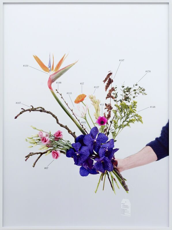 Natalie Czech, 'A Critic's Bouquet by Hili Perlson for Berlinde de Bruyckere ', 2015, Photography, 2 parts, archival pigment print, Kadel Willborn