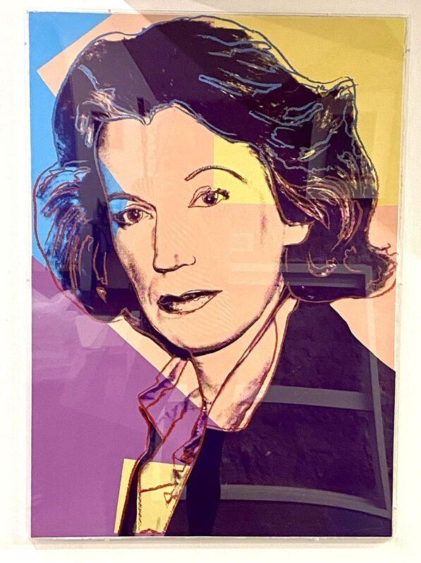 Andy Warhol, 'Mildred Scheel F.&S. II.238', 1980, Print, Screenprint on paper with diamond dust, Verosa
