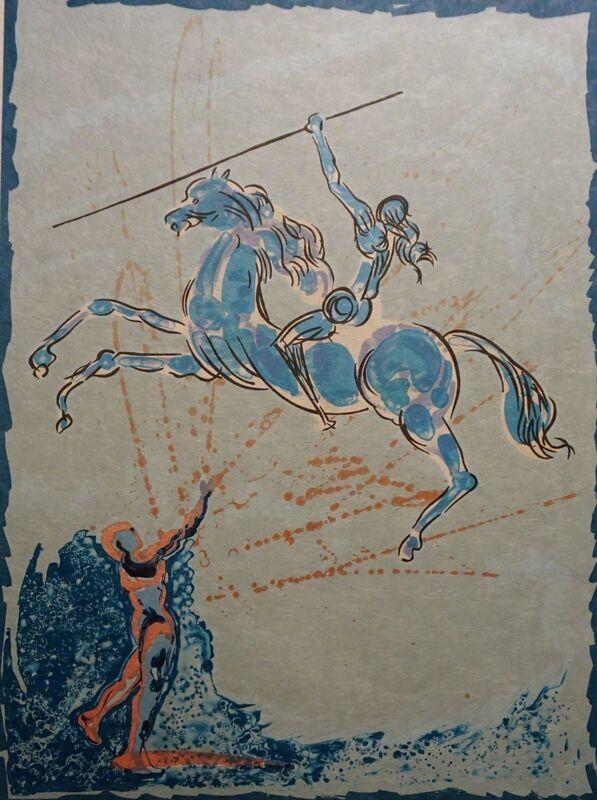 Salvador Dalí, 'Joan of Arc', 1978, Print, Lithograph on Japon Paper, Fine Art Acquisitions Dali