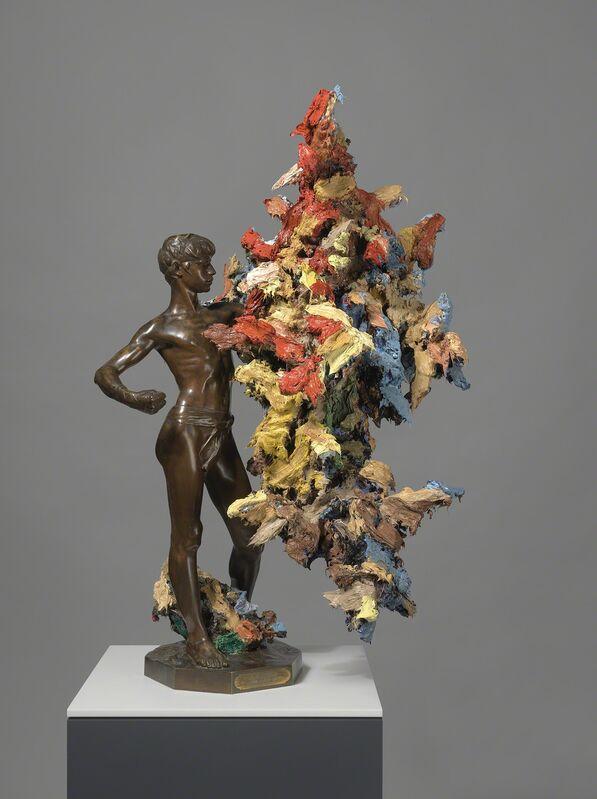 Glenn Brown, 'American Sublime', 2017, Sculpture, Oil paint over acrylic paint on bronze, Gagosian