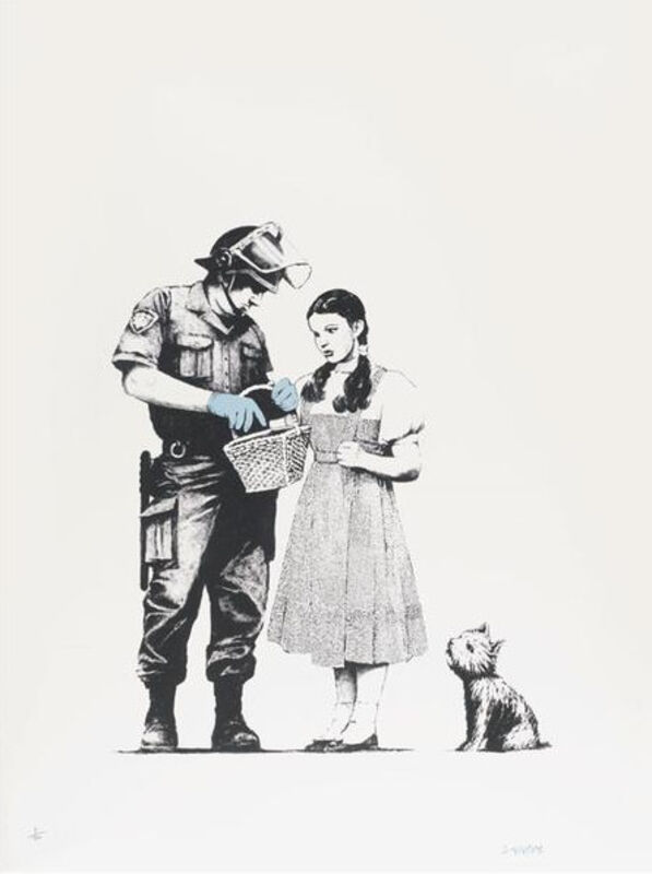 Banksy, 'Stop and Search', 2007, Print, Screenprint on paper, Hexagon Gallery