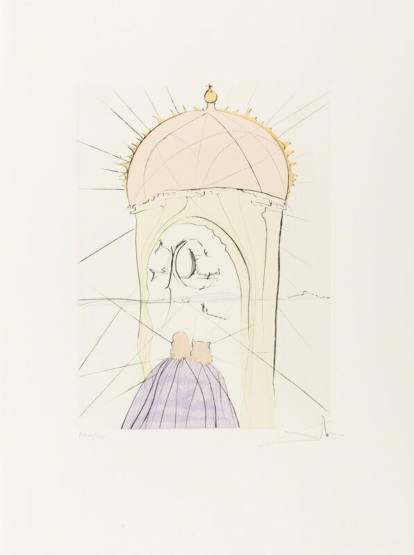 Salvador Dalí, 'After 50 years of Surrealism (Field 74-8A-L; M&L 665-676d)', 1974, Books and Portfolios, The rare complete portfolio, Forum Auctions