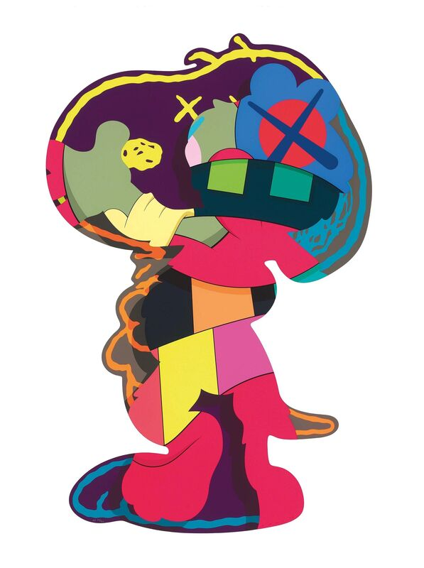 KAWS, 'Isolation Tower', 2016, Print, Silkscreen on paper, Gin Huang Gallery