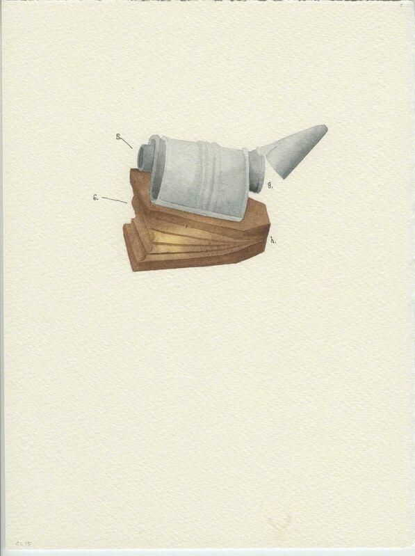 Catarina Leitão, 'Cadernos de Campo #13', 2015, Drawing, Collage or other Work on Paper, Watercolor, Carlos Carvalho- Arte Contemporanea
